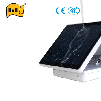 New Design Best Seller Capacitive Touch Dual Screen POS Machine
