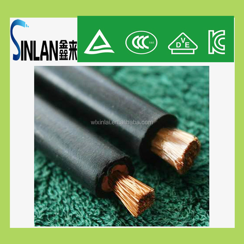 PVC welding ground cable copper welding cable