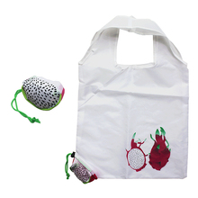 Factory Cheap Recycled Polyester T-shirt Grocery Shopping Bag with Custom Logo