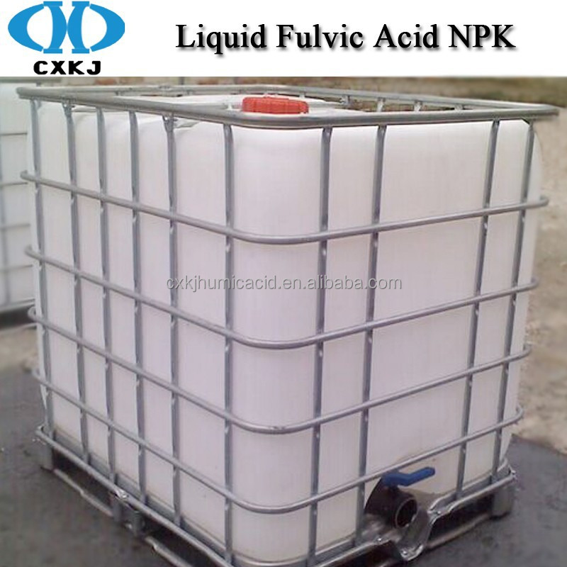 NPK Water Soluble Fertilizer Liquid Fulvic Acid NPK