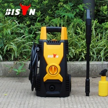 China bison car jet power water mini electric portable high pressure washer