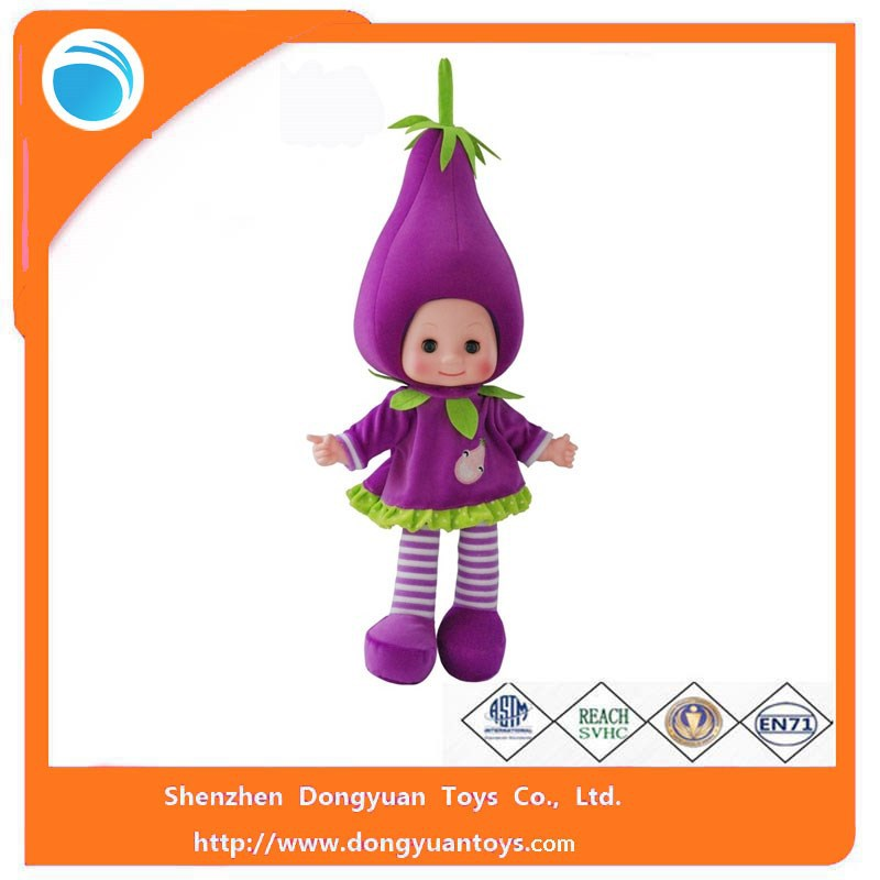 18 Inch Voice-Control Fruit Kids Dolls Made in China