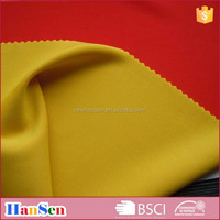 High quality weft knited double faced polyester jersey fabric