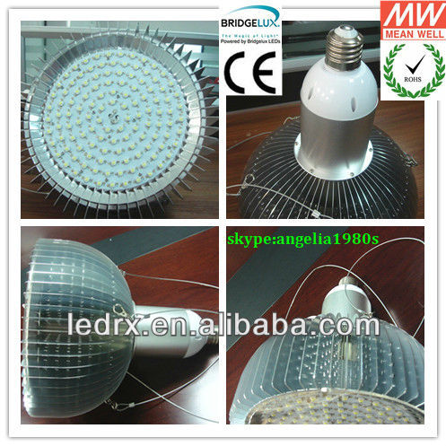 high lumen E40 50W LED industrial lamp halogen high pressure sodium light 200W replacement CE ROHS UL IES files