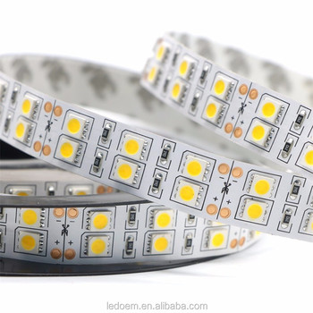 double rows 5050 led strip 120LEDs RGB