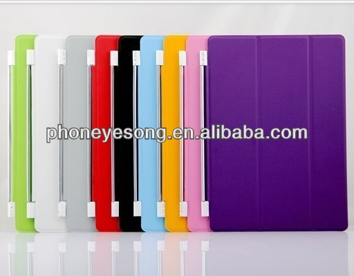Ultra thin magnetic smart cover for ipad air case for ipad 5