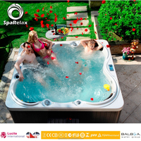 Mini Indoor Pop-up IC TV Whirlpool Hot Tubs or 5 Person