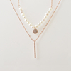 Nature Fresh Pearl Double Chain 925