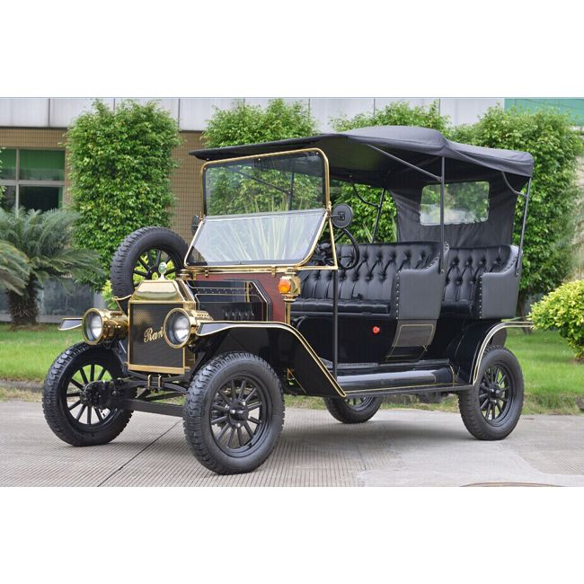 Elegant design resort classic electric passenger car golf buggy