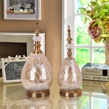 Manufacture home accessories decoration Glass Crafts for sale