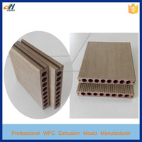 Wood Plastic Decking PE Foam WPC Extrusion Tool