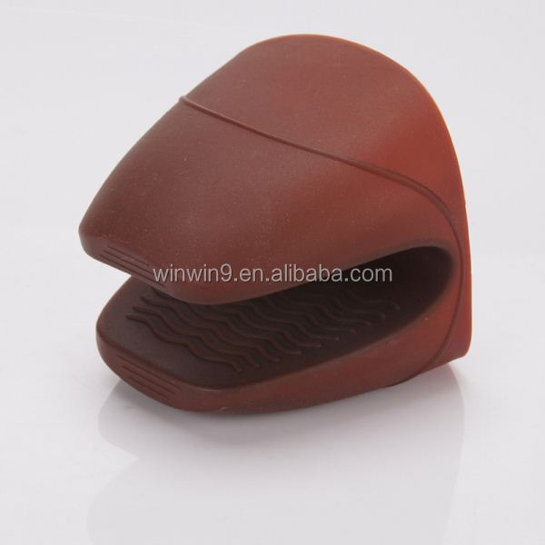 silicone oven mitts/silicone pot holder/silicon glove for high temperature