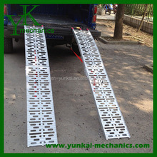 Plate Style Good Quality Aluminum Motorcycle/Car/Truck Loading Ramps - 7' Long