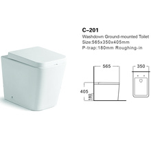 Ceeport C-201washdown wall hung toilet #H-422 wall hung water closet