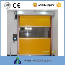 motorized aluminum high speed roll up door for warehouse