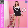 New arrival black two pieces japan sexy school girl costume sex teacher uniform
