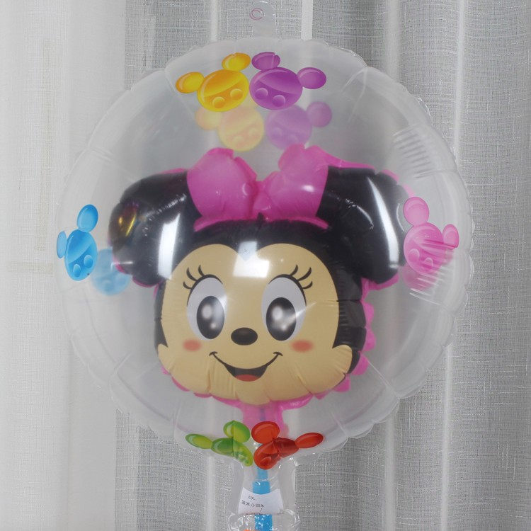 Transparent balloon for decoration