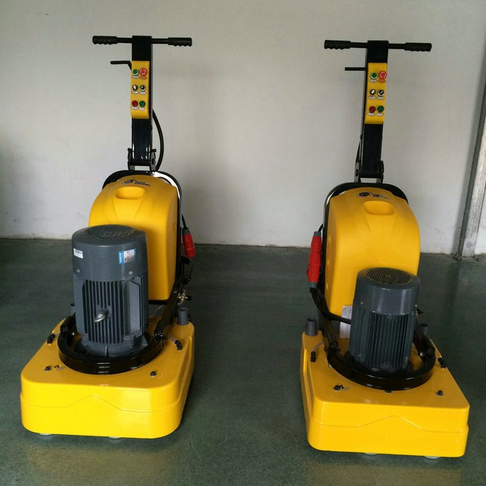 JS-580 concrete grinder for floor preparation