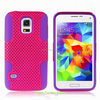 new product toolbox hybrid combo mesh case for ZTE Solar x500