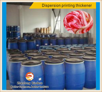 thickening agent for dispersion printing