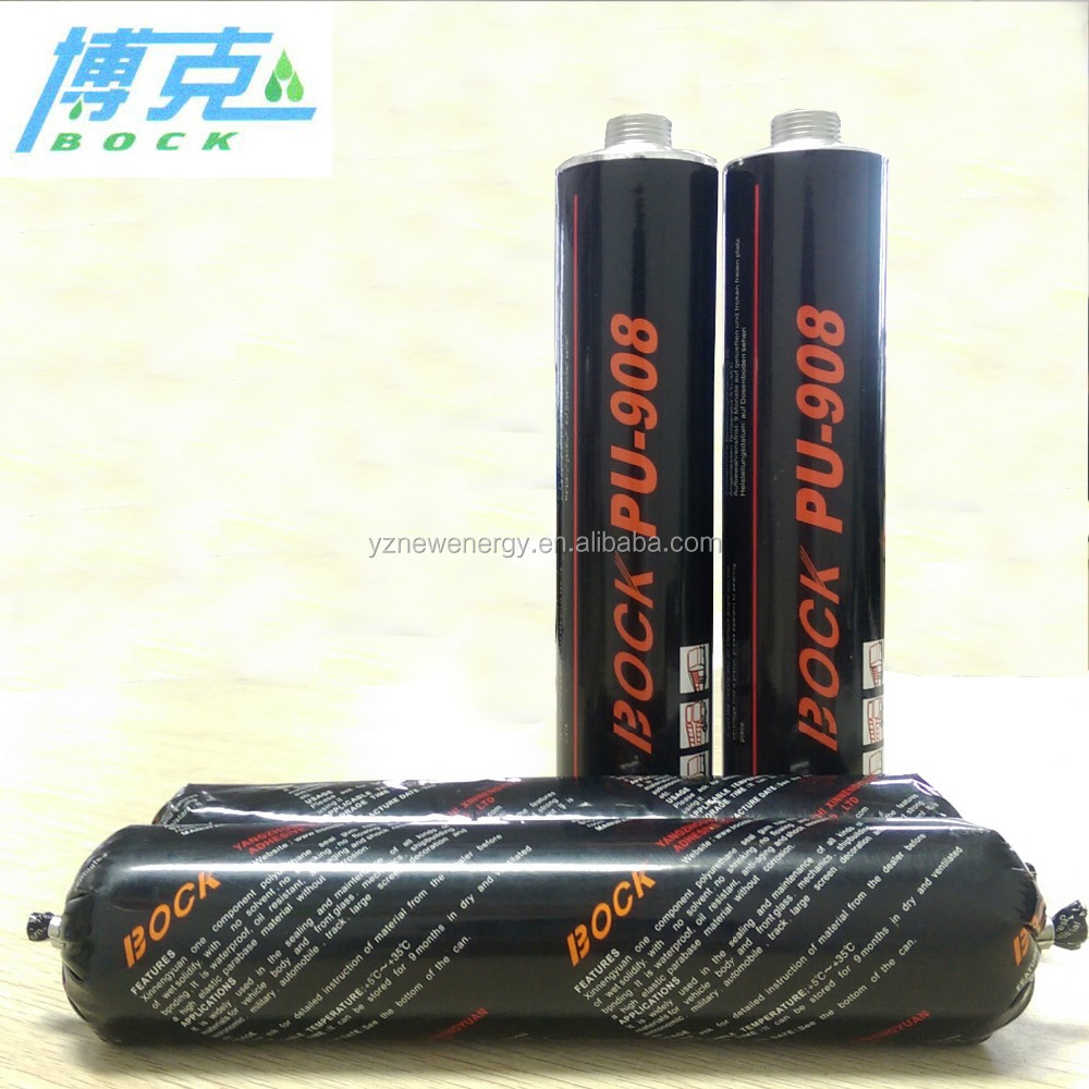 Auto glass Silicone/Pu sealant black paste