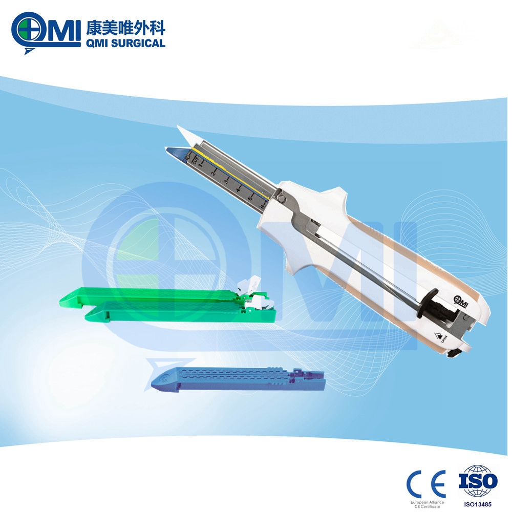 Disposable Surgical Linear Cutting Stapler Properties Abdominal Surgery Equipments With Titanium Clips Type