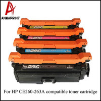High Quality Factory Frice Compatible Toner Cartridge CE260A for HP Color LaserJet CP4025 4525