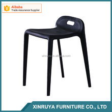 classics stacking Plastic chairs PP seat with chrom legs