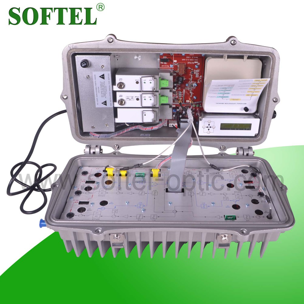 <Softel>Bi-directional 1GHz Outdoor Fiber Optical Working Station for Metropolitan Area Network