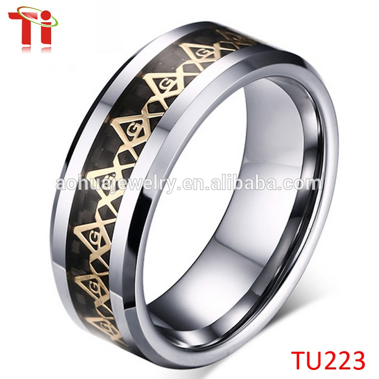 OEM Hot Sell Fashion Jewelry Gold Masonic Ring, Latest Stainless Steel Ring Gold Ring Designs for Men