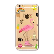 Flamingo designs phone case back cover for iphone 5