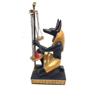 Factory custom made handmade carved hot new products resin egypt souvenirs of Egyptian Dark Lord statue