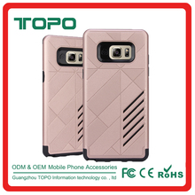 shockproof TPU PC Hybrid 2in1 Armour plastic Phone Accesories back cover For Samsung Galaxy Note 7 Case