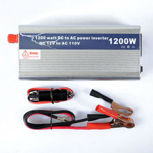 High quality 1200 Watt Car DC 12V to AC 110V Power Inverter/Charger/Adapter