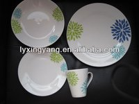 16pcs ceramic tableware set/porcelain tableware set/vajilla