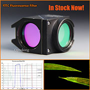 In Stock!! GFP fluorescence filter green filter for fluorescence microscope