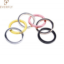 wholesale 25mm 30mm 35mm iron split key ring for key chain