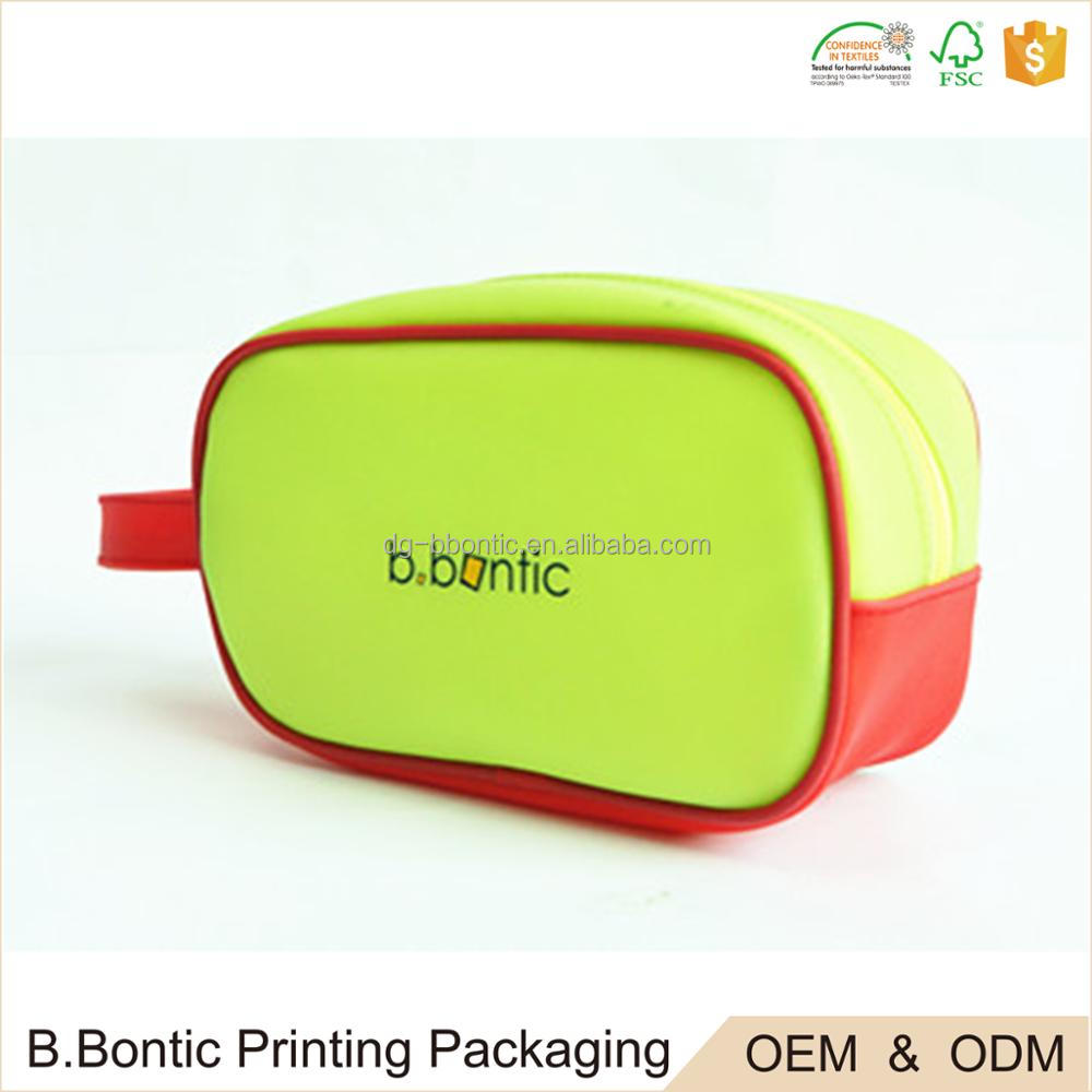 Promotional PVC plastic big pencil case printing pen bag