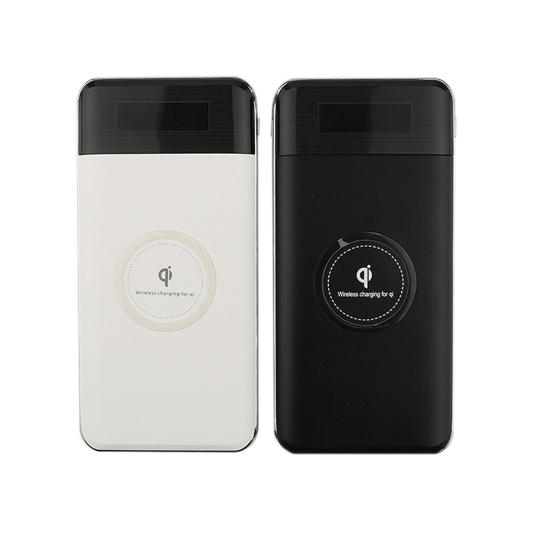 High-Capacity 10000mAh QI Wireless Charger Power Bank for Cellphone