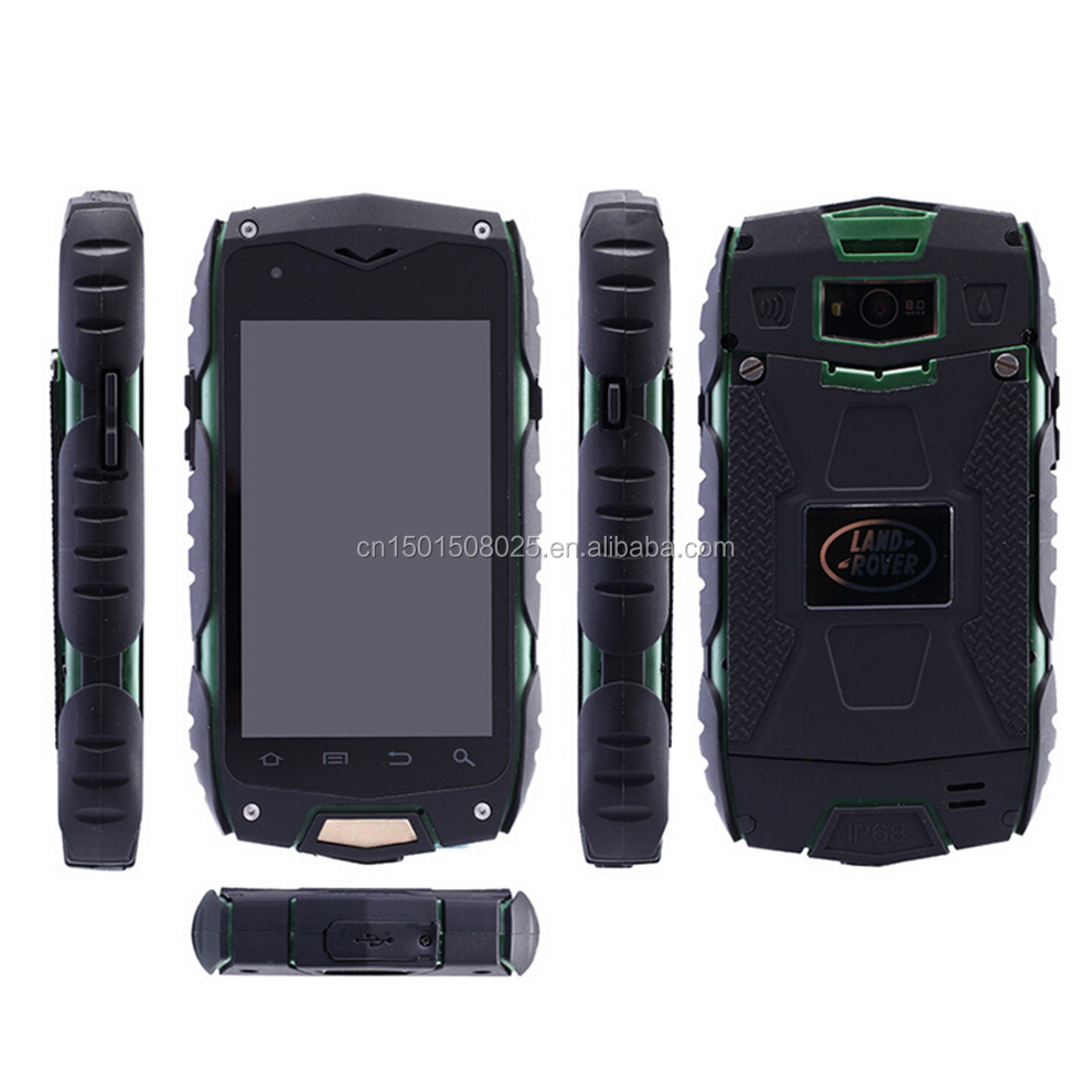 Supplier ip68 waterproof and dustproof mobile phone with ip65