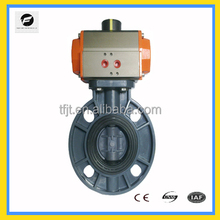 CWX-Pneumatic actuator valve wafer type sanitary electric pneumatic butterfly valves