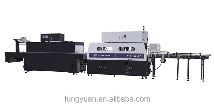 High speed Overlapping Film wrapping Packaging machine