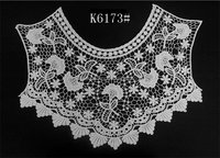 machine knited cotton guipure lace Noble and elegant style collars, accessories for women garments wholesaler