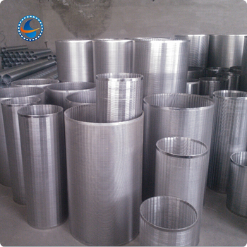 Small Diameter Stainless Steel Looped Sieve Bend Wedge Wire Screen