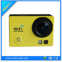 Wifi hd mini sport dv 1080p manual for drones underwater action camera with RF remote control wireless video hidden camera