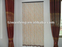 Wooden bead door curtain plastic curtain accessories