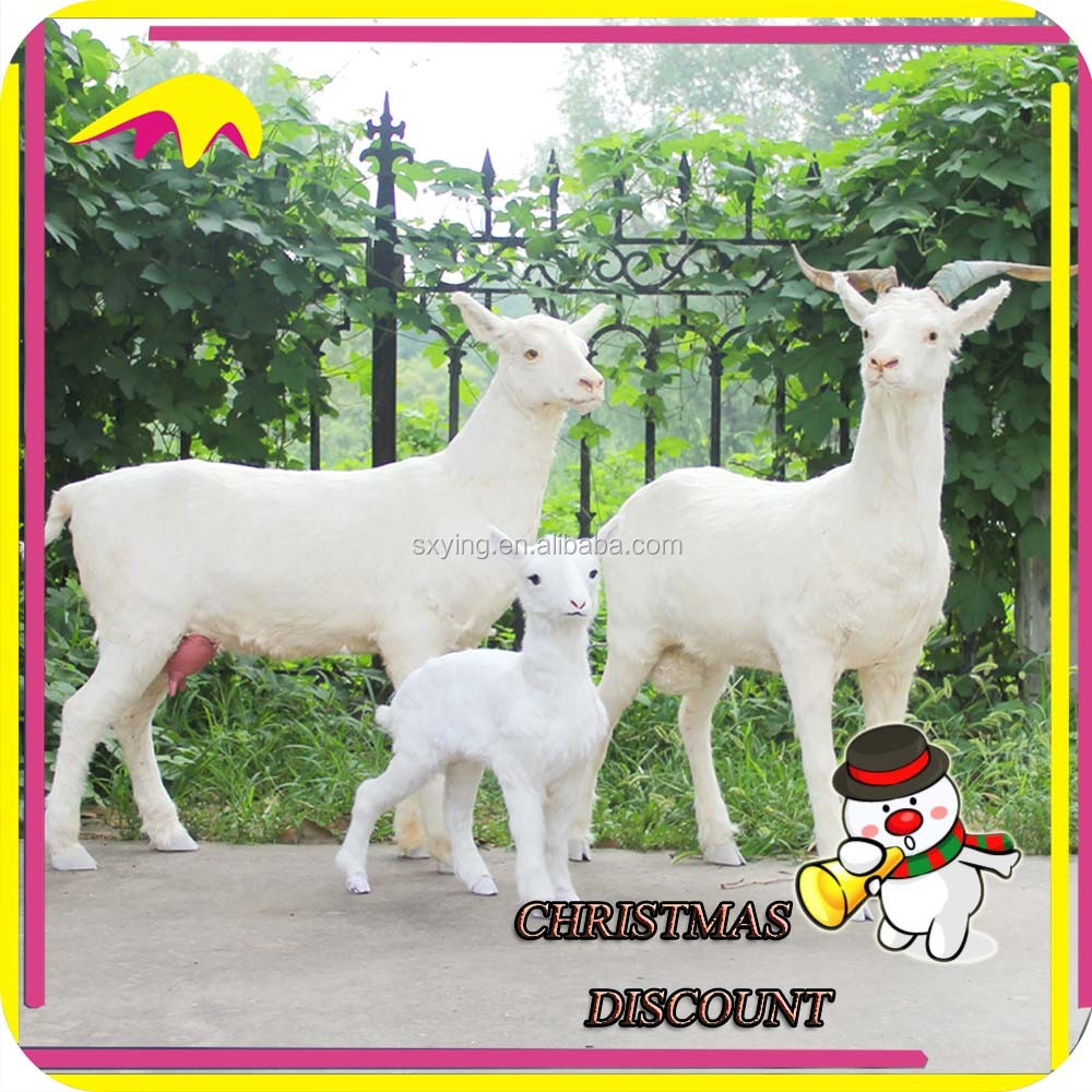 KANO1056 Animated Life Size Garden Decoration Anmial Sheep