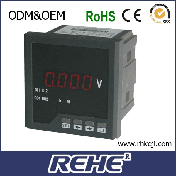 Best Price RH-DV61 single phase digital 12V DC voltmeter