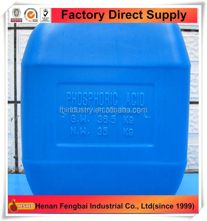 Factiry Price molecular weight phosphoric acid