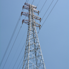 High Quality 500kv Power Transmission Line Steel angle Tower